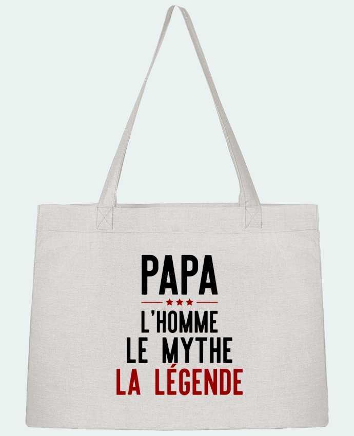 Sac Cabas Shopping Stanley Stella Papa la légende cadeau par Original t-shirt