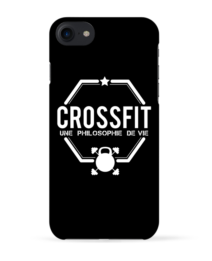 Coque 3D Iphone 7 Crossfit une philosophie de vie de tunetoo