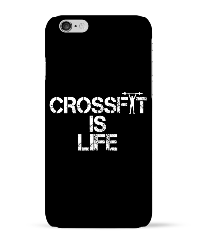 Coque 3D Iphone 6 Crossfit is life par tunetoo