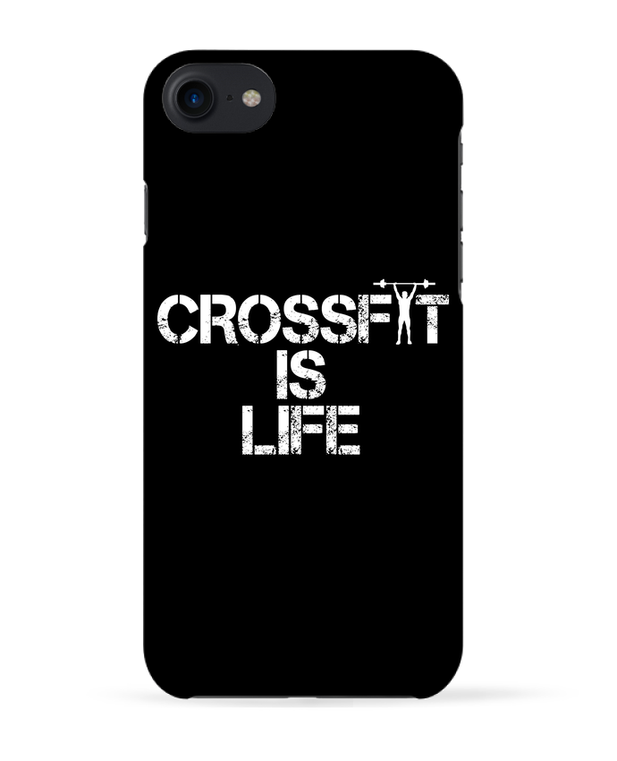 Coque 3D Iphone 7 Crossfit is life de tunetoo