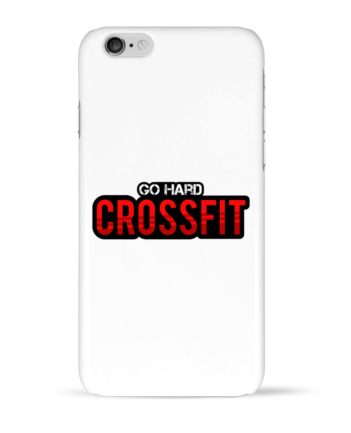 Coque 3D Iphone 6 Go Hard ! Crossfit par tunetoo