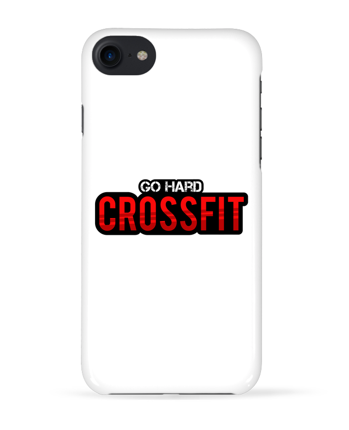 Coque 3D Iphone 7 Go Hard ! Crossfit de tunetoo