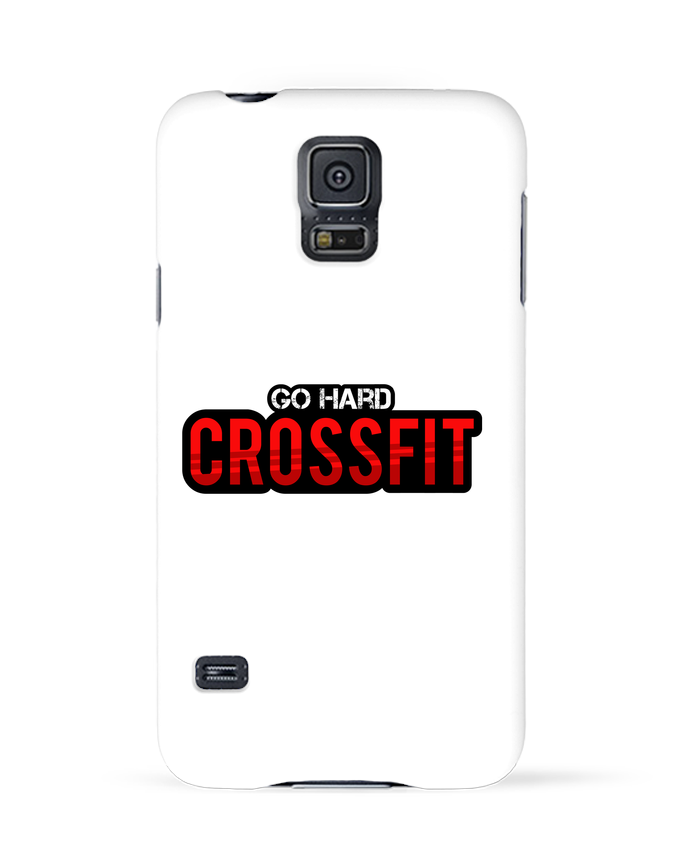 Coque 3D Samsung Galaxy S5 Go Hard ! Crossfit par tunetoo