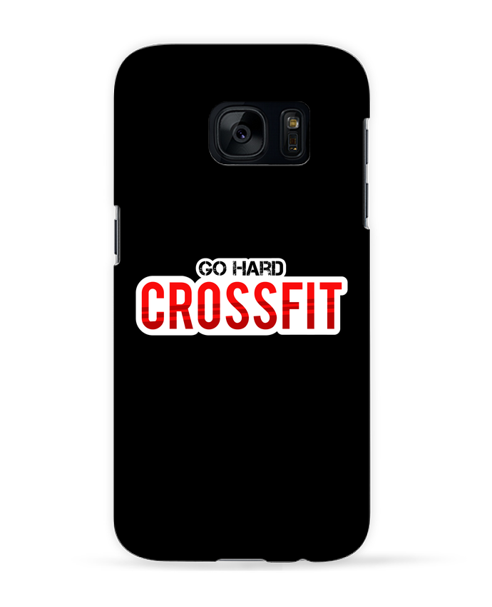 Coque 3D Samsung Galaxy S7 Keep going ! Crossfit par tunetoo