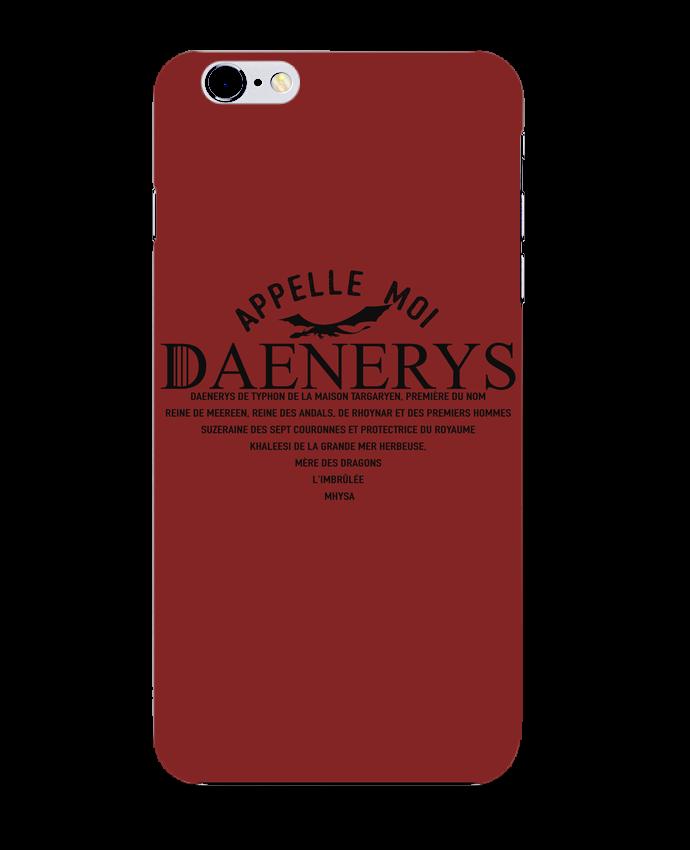 Coque 3D Iphone 6+ Appelle moi Daenerys de tunetoo