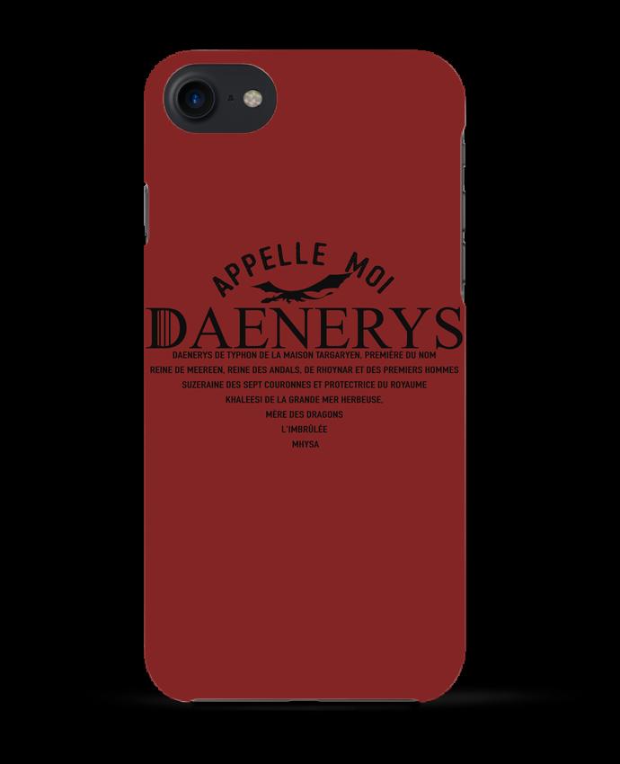 Coque 3D Iphone 7 Appelle moi Daenerys de tunetoo