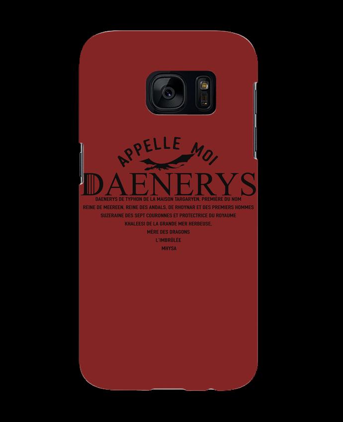 Coque 3D Samsung Galaxy S7 Appelle moi Daenerys par tunetoo