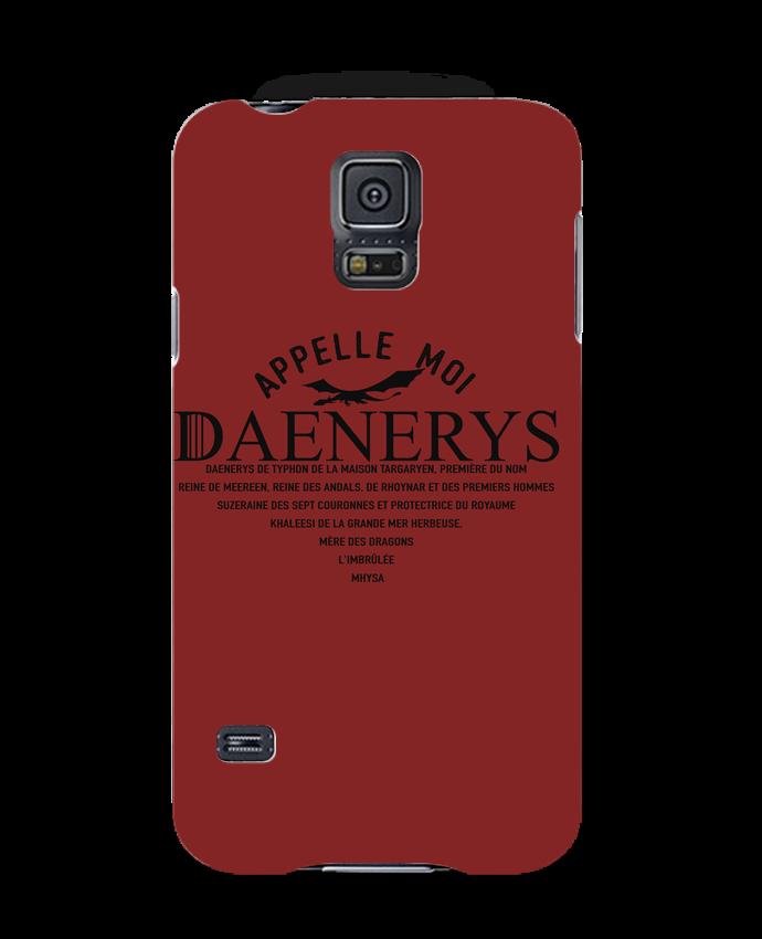 Coque 3D Samsung Galaxy S5 Appelle moi Daenerys par tunetoo
