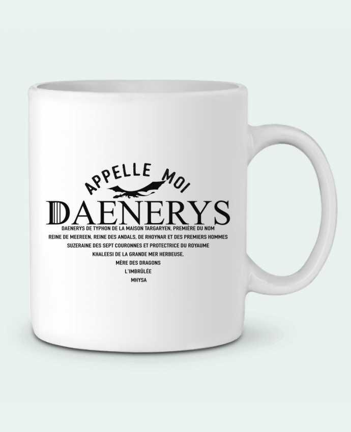 Mug en Céramique Appelle moi Daenerys par tunetoo