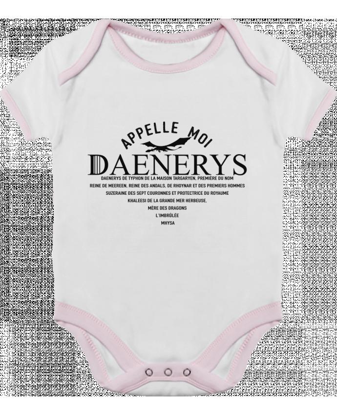 Body Bébé Contrasté Appelle moi Daenerys par tunetoo
