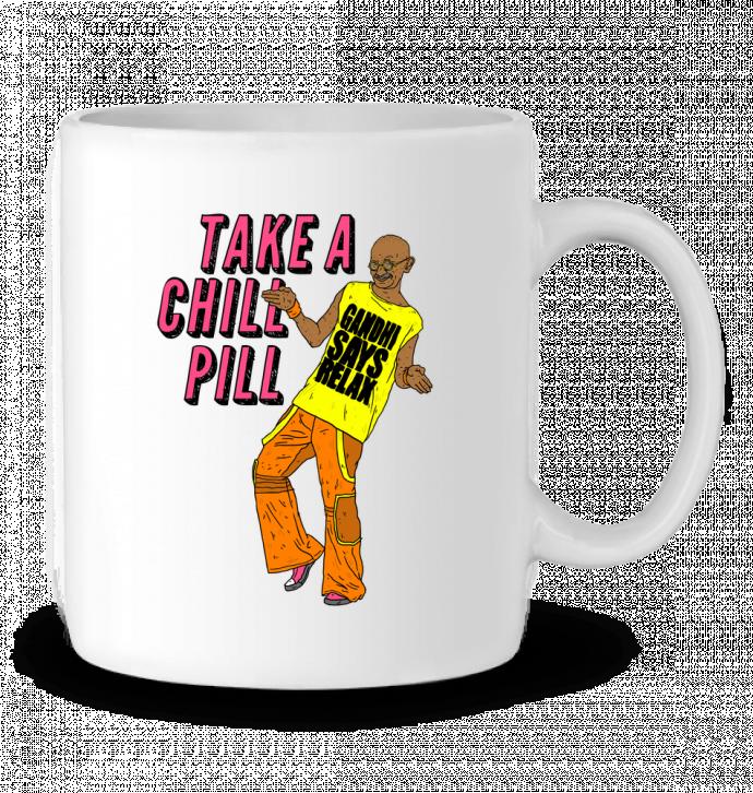 Mug en Céramique Chill Pill par Nick cocozza