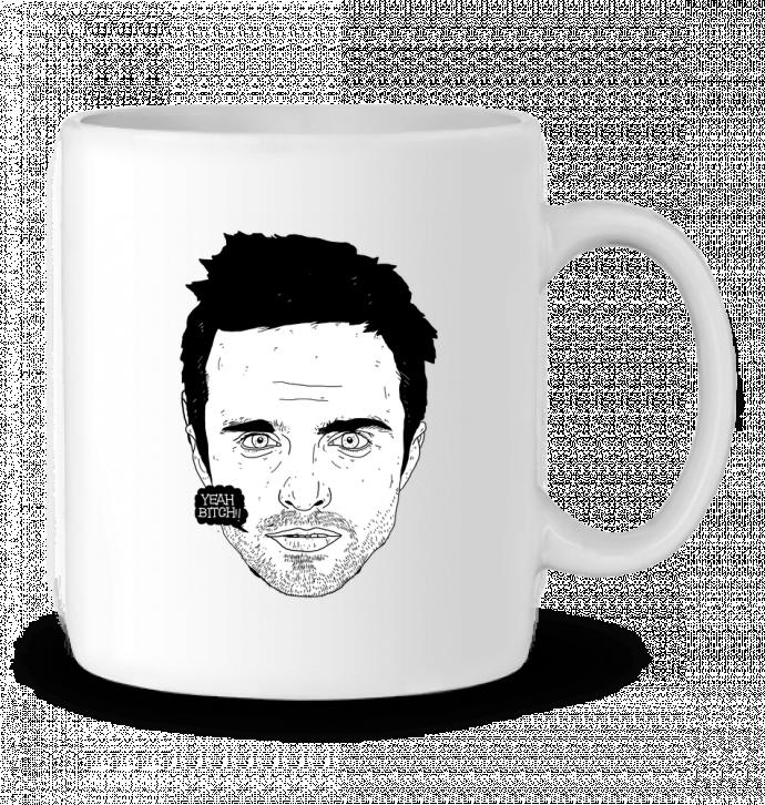 Mug en Céramique Jesse Pinkman par Nick cocozza