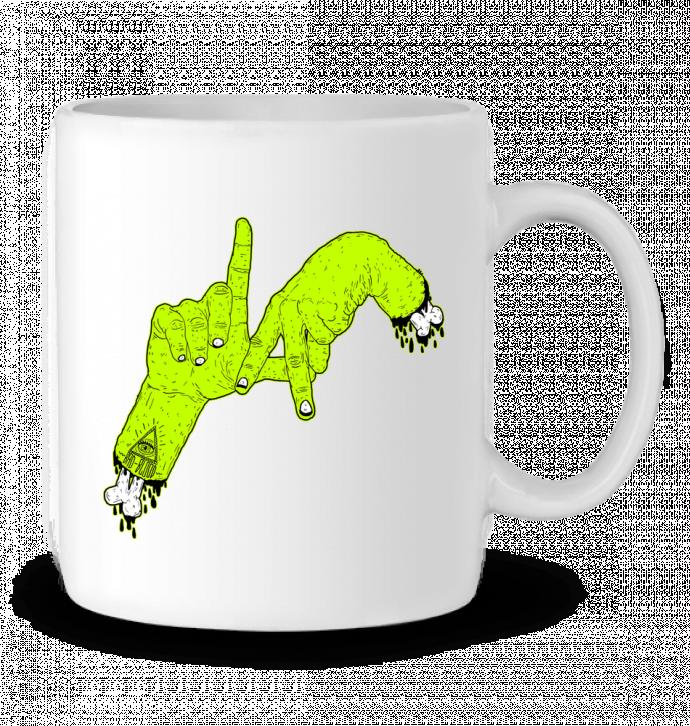 Mug en Céramique LA Zombie par Nick cocozza