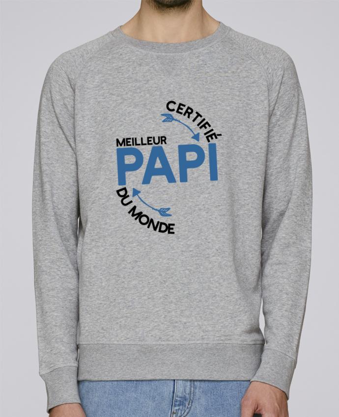 superior quality bf9d1 d51e7 2331199-sweat-col-rond-stanley-strolls-heather-grey-certifie-meilleur-papi-cadeau-by-original-t-shirt.png