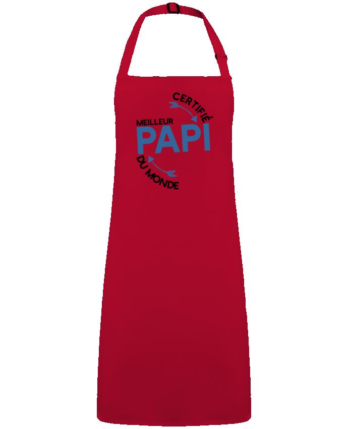 Tablier Sans Poche Certifié meilleur papi cadeau par  Original t-shirt