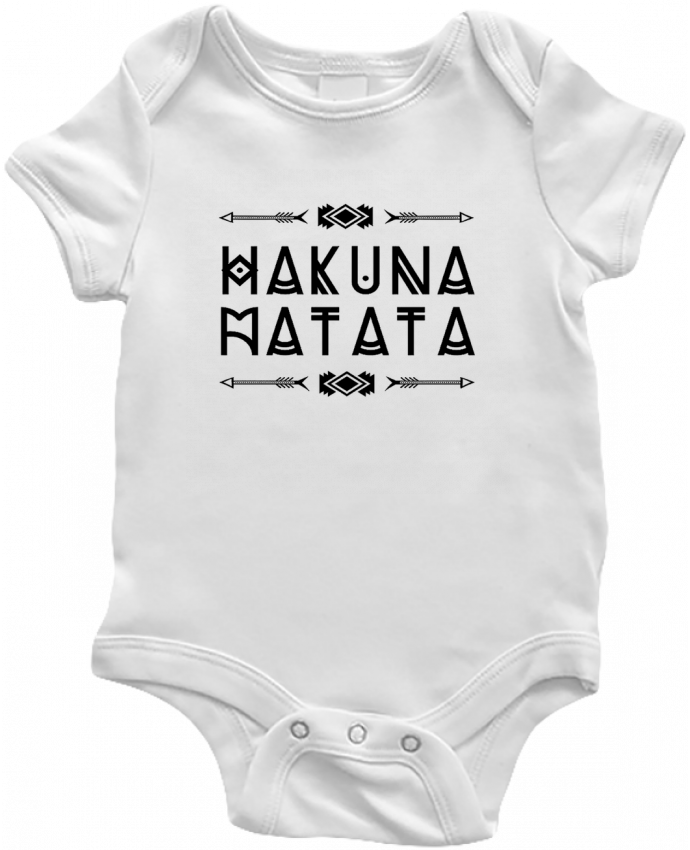 Body Bébé hakuna matata par DesignMe