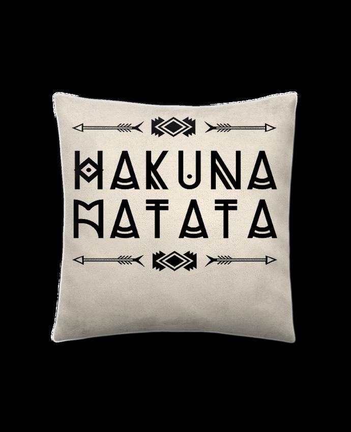 Coussin Toucher Peau de Pêche 41 x 41 cm hakuna matata par DesignMe