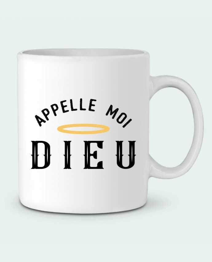 Mug en Céramique Appelle moi dieu par tunetoo