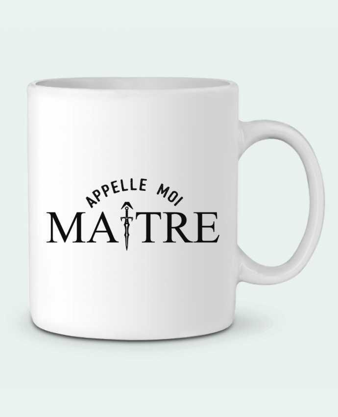 Mug en Céramique Appelle moi maître par tunetoo