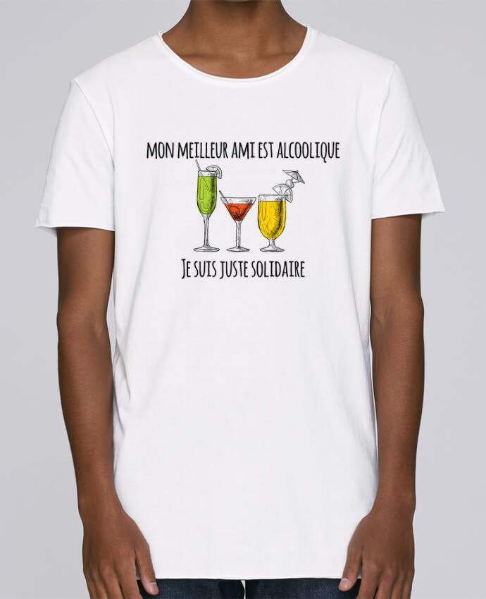 T-shirt Homme Oversized Stanley Skates Mon meilleur ami est alcoolique et je suis juste solidaire par tun