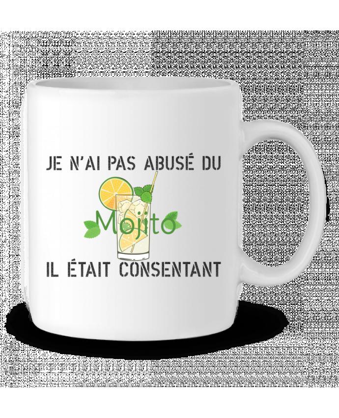 Mug en Céramique Je n'ai pas abusé du mojito, il était consentant ! par tunetoo