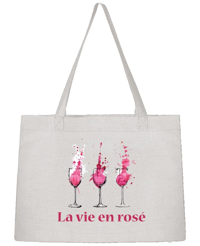 Sac Cabas Shopping Stanley Stella La vie en rosé par tunetoo