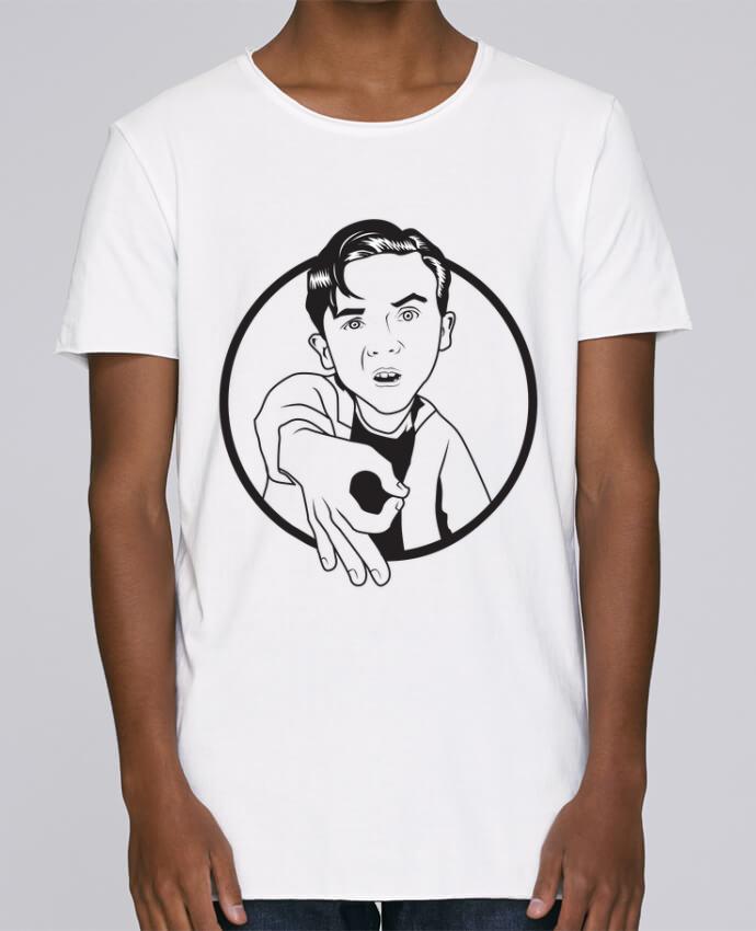 T-shirt Homme Oversized Stanley Skates Malcolm, jeu de l'oeil par tunetoo