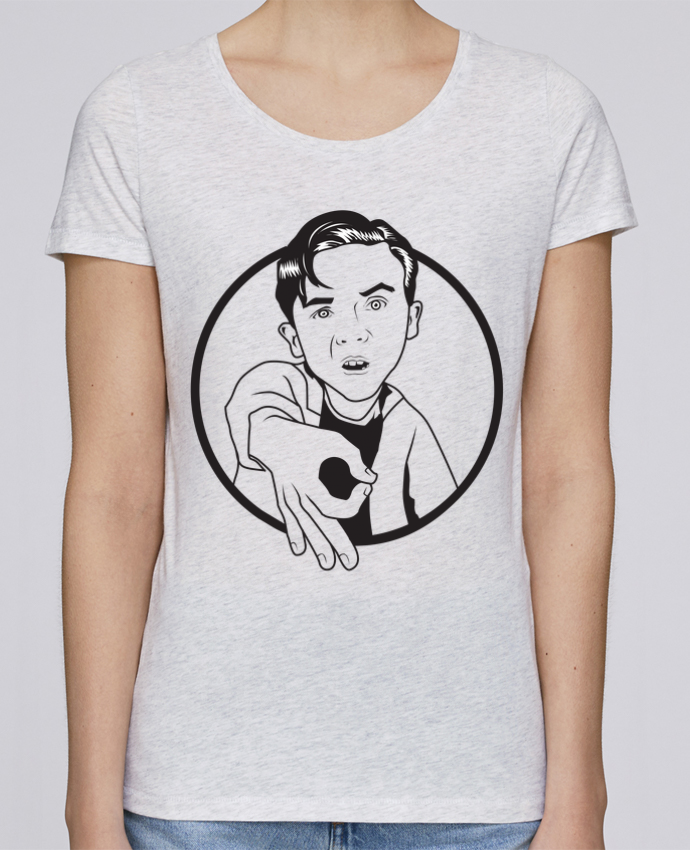 T-shirt Femme Stella Loves Malcolm, jeu de l'oeil par tunetoo