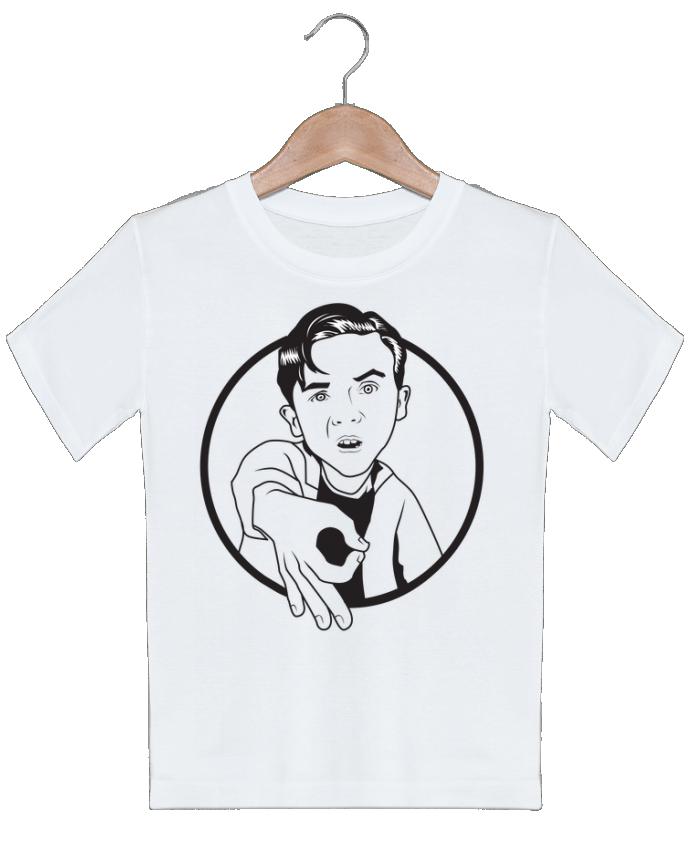 T-shirt garçon motif Malcolm, jeu de l'oeil tunetoo
