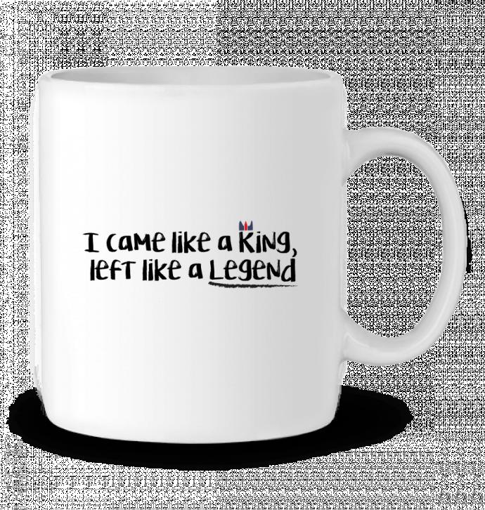 Mug en Céramique I came like a king par tunetoo
