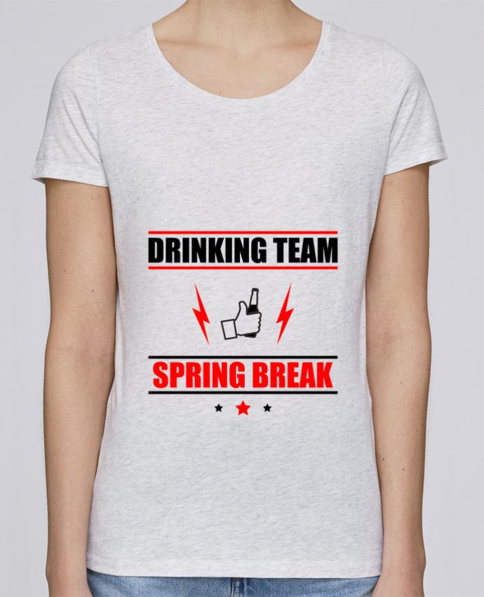 T-shirt Femme Stella Loves Drinking Team Spring Break par Benichan