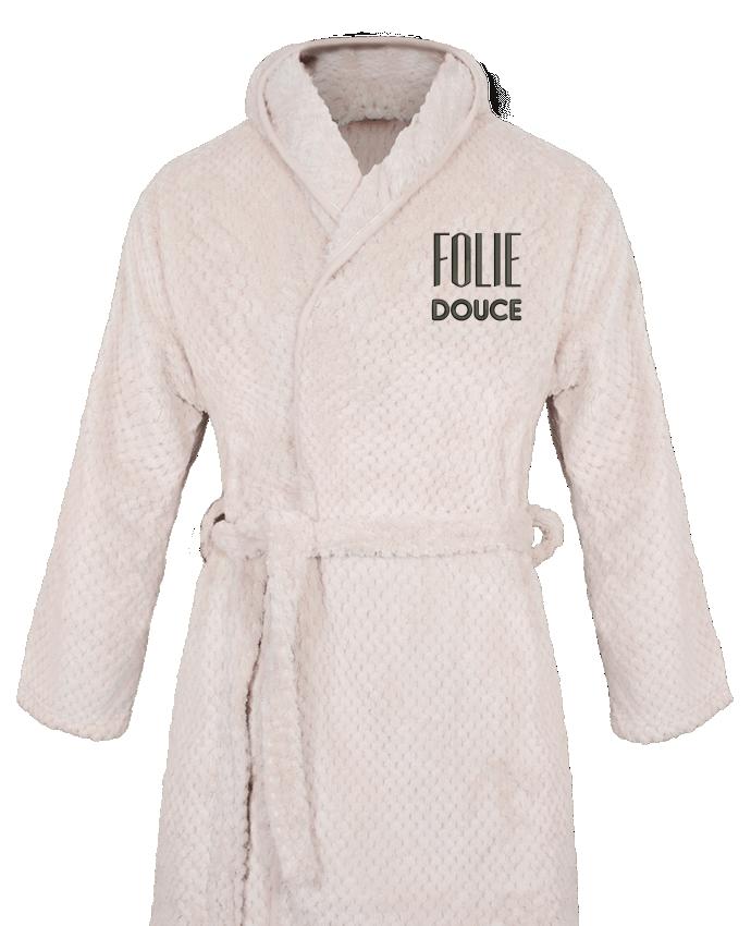 Peignoir Femme Soft Coral Fleece Folie douce par tunetoo