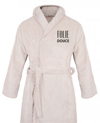 Peignoir Femme Soft Coral Fleece Folie douce par tunetoo