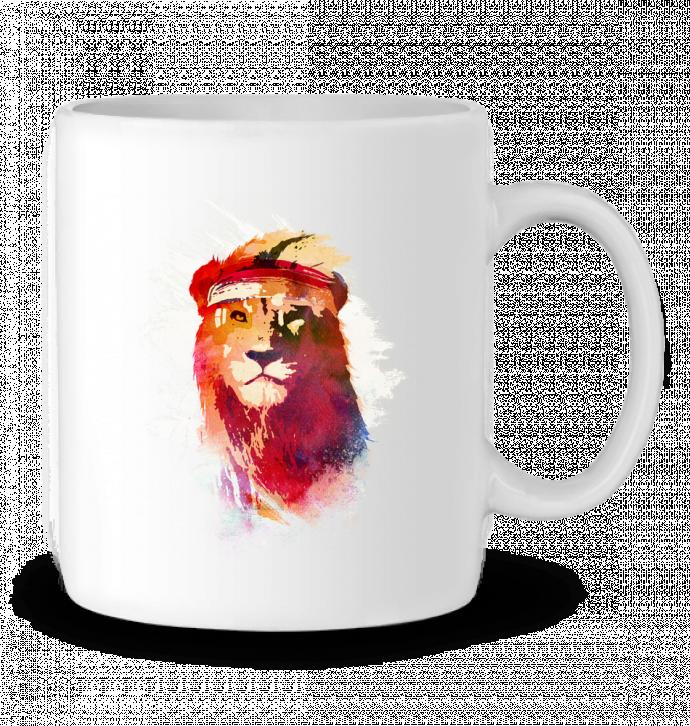 Mug en Céramique Gym lion par robertfarkas