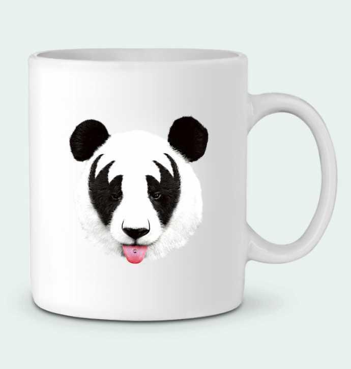 Mug en Céramique Kiss of a panda par robertfarkas