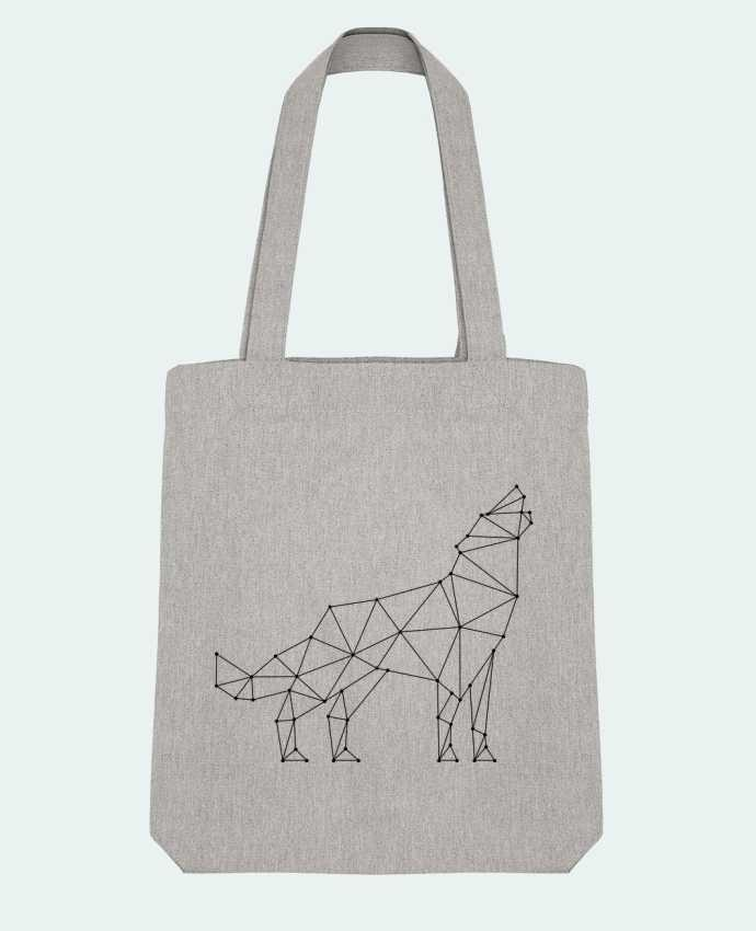 Tote Bag Stanley Stella wolf - geometry par /wait-design