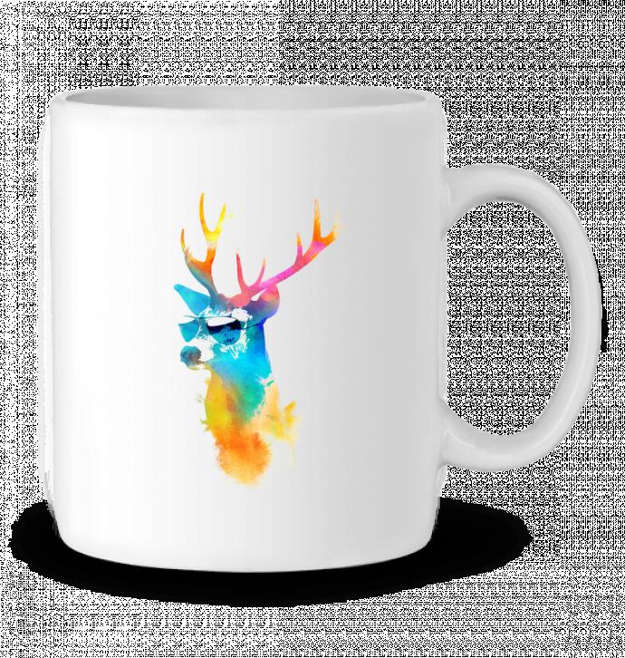 Mug en Céramique Sunny stag par robertfarkas