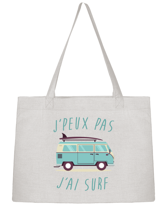 Sac Cabas Shopping Stanley Stella Je peux pas j'ai surf par FRENCHUP-MAYO