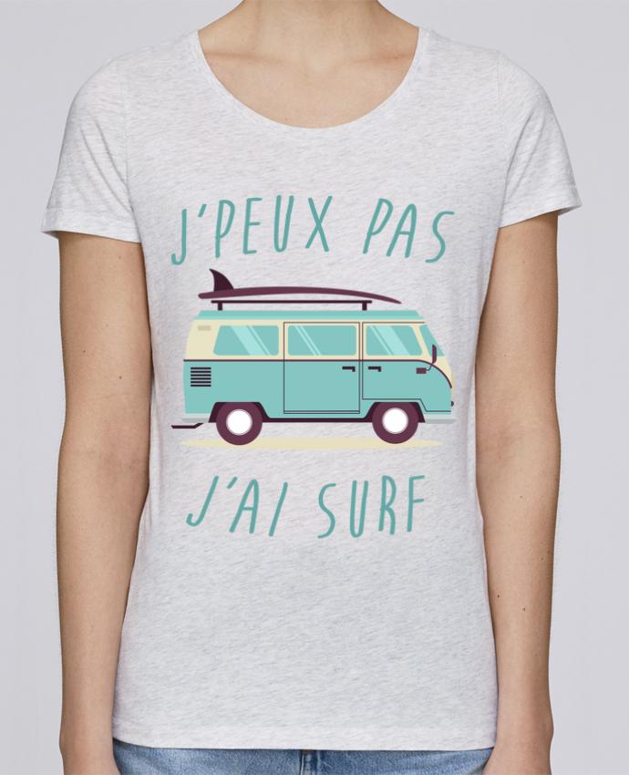 T-shirt Femme Stella Loves Je peux pas j'ai surf par FRENCHUP-MAYO