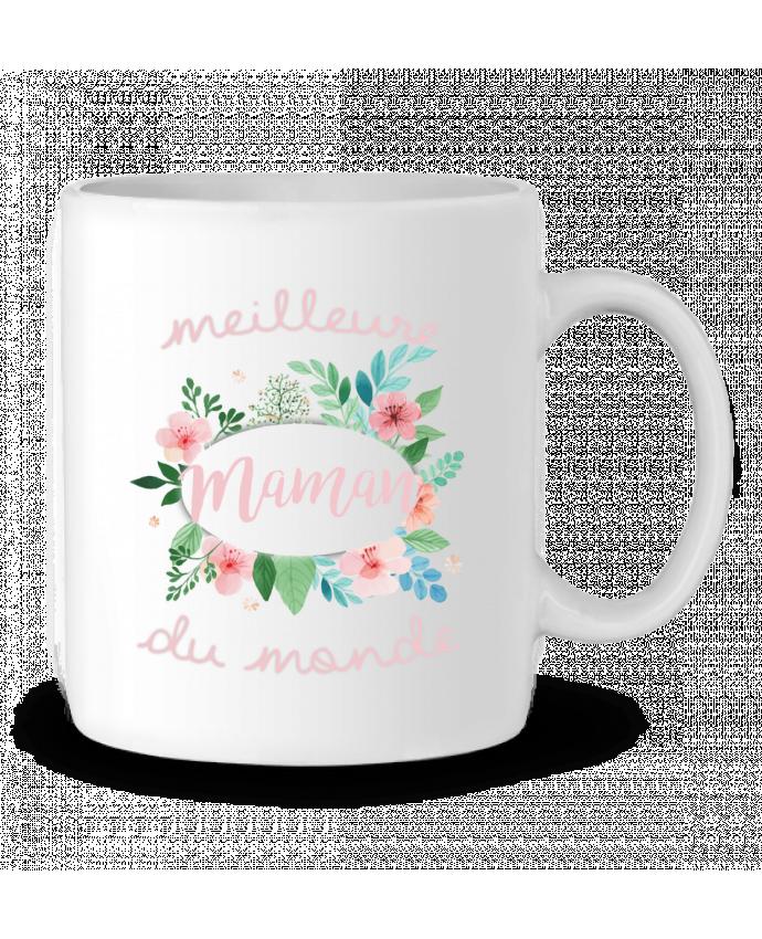 Mug en Céramique Meilleure maman du monde par FRENCHUP-MAYO