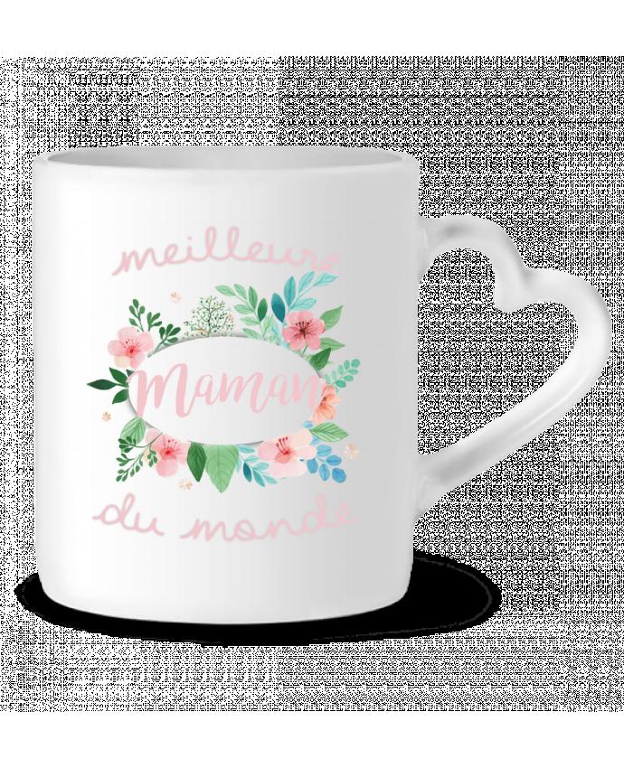 Mug Coeur Meilleure maman du monde par FRENCHUP-MAYO