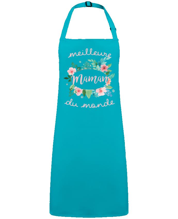 Tablier Sans Poche Meilleure maman du monde par  FRENCHUP-MAYO