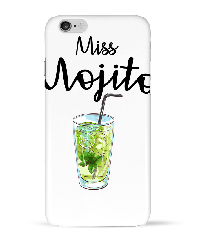 Coque 3D Iphone 6 Miss Mojito par FRENCHUP-MAYO