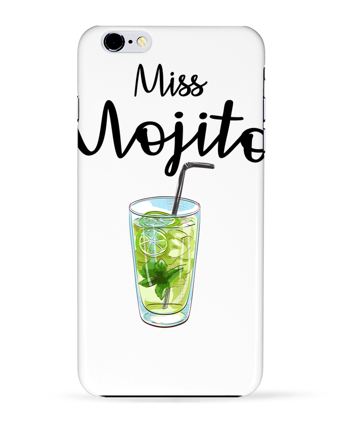 Coque 3D Iphone 6+ Miss Mojito de FRENCHUP-MAYO