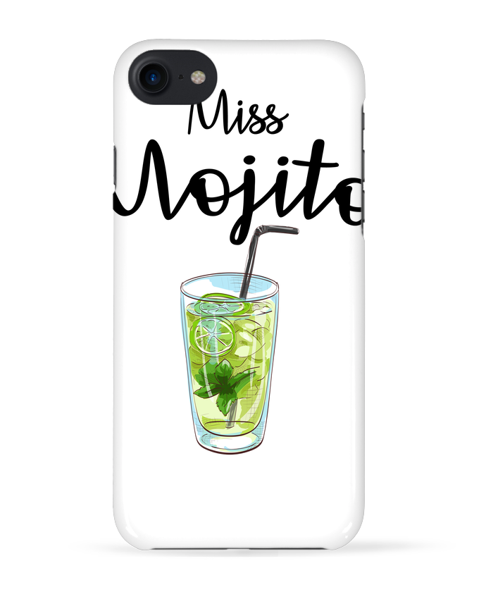 Coque 3D Iphone 7 Miss Mojito de FRENCHUP-MAYO