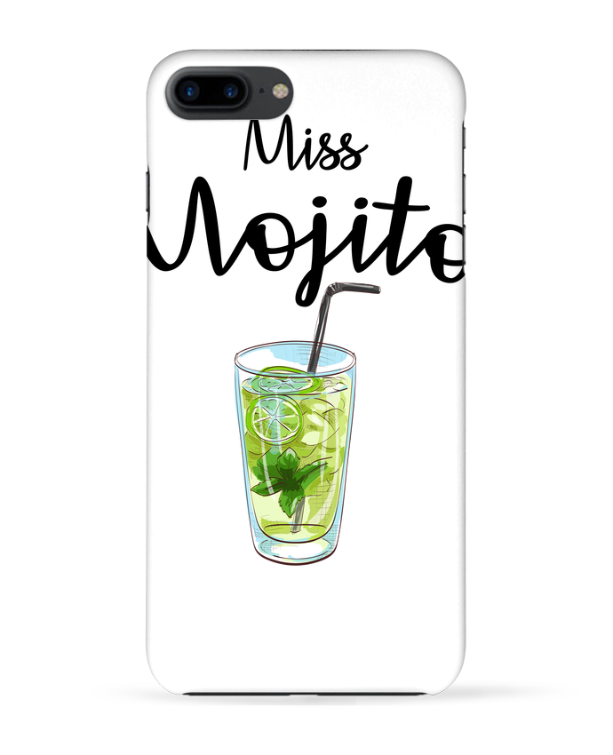 Coque 3D Iphone 7+ Miss Mojito par FRENCHUP-MAYO