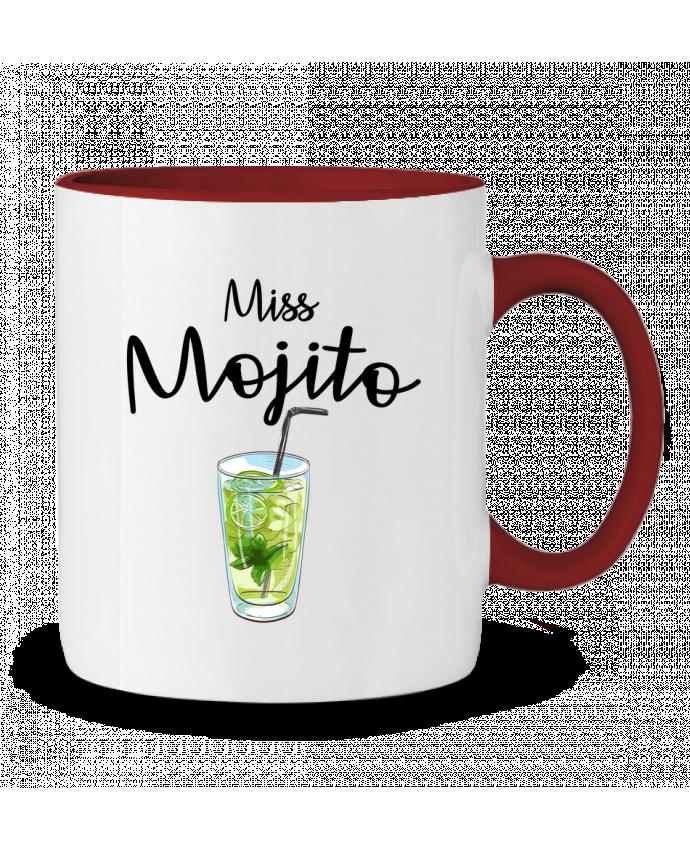 Mug en Céramique Bicolore Miss Mojito FRENCHUP-MAYO