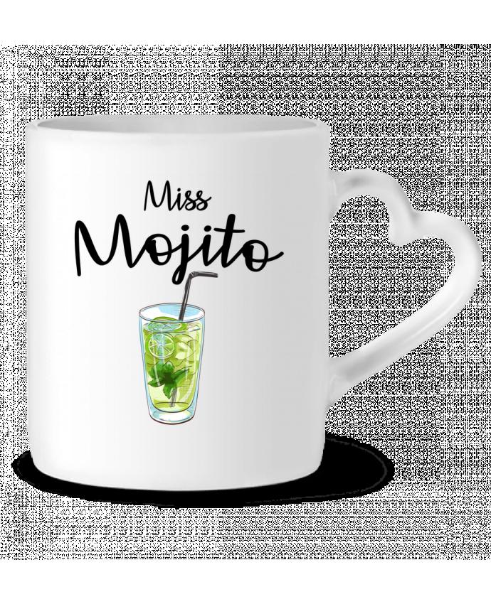 Mug Coeur Miss Mojito par FRENCHUP-MAYO