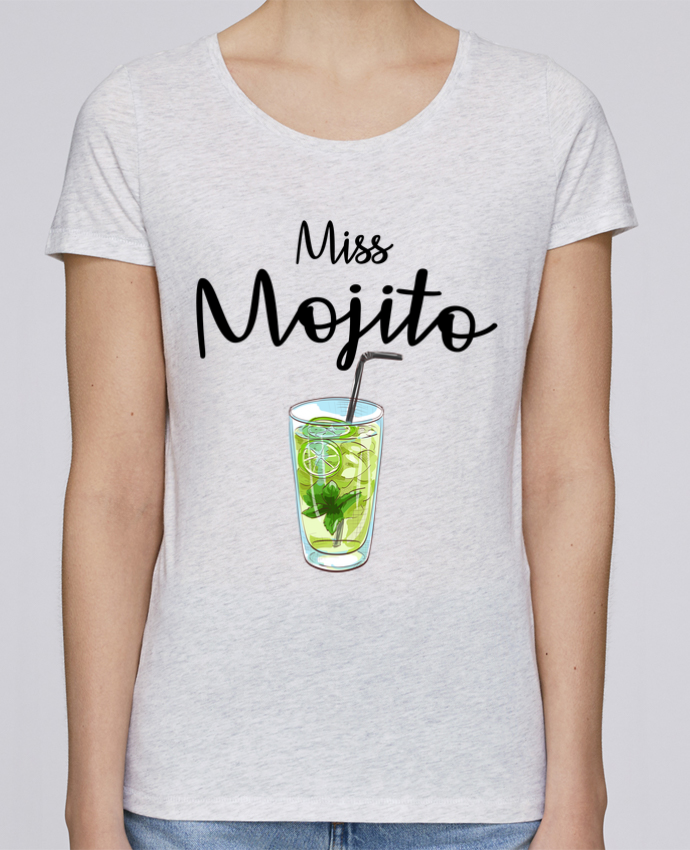 T-shirt Femme Stella Loves Miss Mojito par FRENCHUP-MAYO