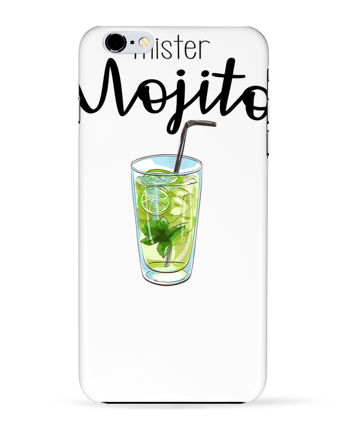 Coque 3D Iphone 6+ Mister mojito de FRENCHUP-MAYO